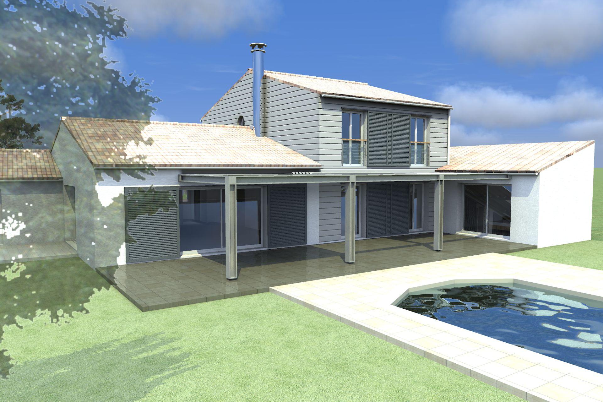 208 maison des petites maisons alfa architecture. Black Bedroom Furniture Sets. Home Design Ideas