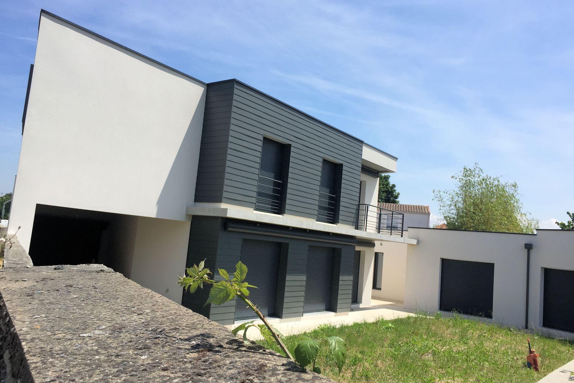 228 maison des paillers alfa architecture for Habitation individuelle