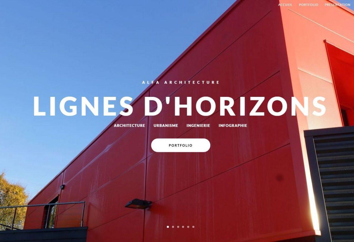 (Ré) Ouverture du site internet d'ALFA Architecture …